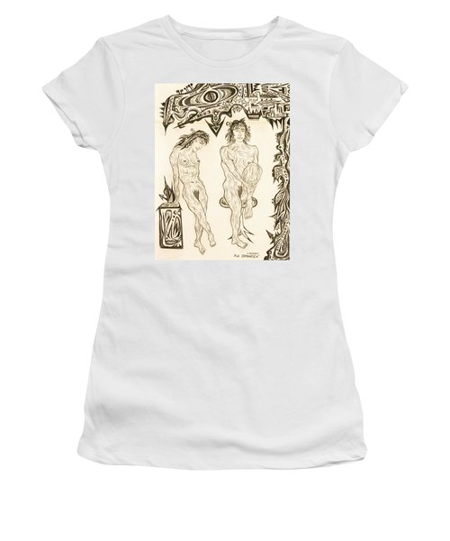 Live Nude 10 Female Women's T-Shirt (Athletic Fit)