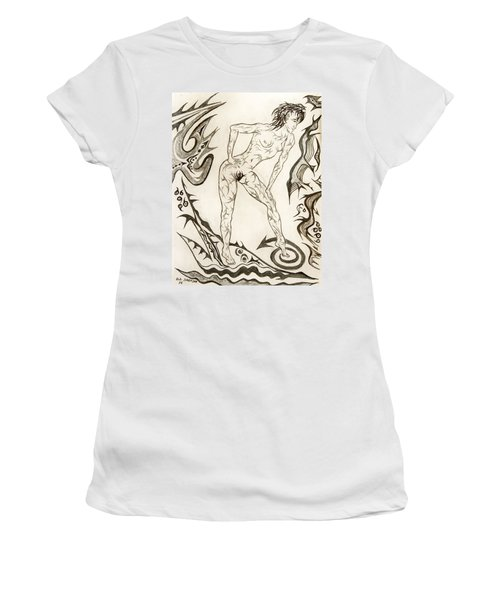 Live Nude 3 Female Women's T-Shirt (Athletic Fit)
