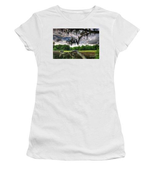 Live Oak Marsh View Women's T-Shirt