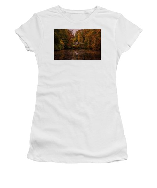 Living Between Autumn Colors Women's T-Shirt