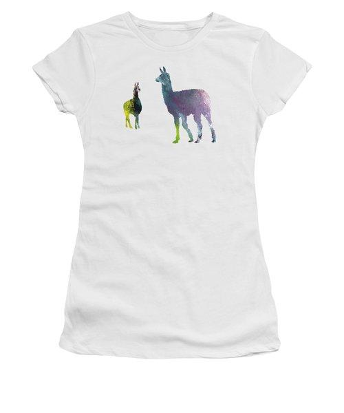Llama Women's T-Shirt (Athletic Fit)