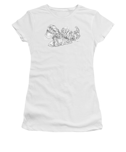 Lobster Shell Drawing Women's T-Shirt