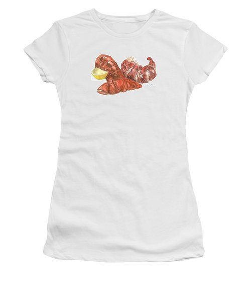 Lobster Tail And Meat Women's T-Shirt