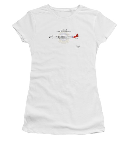 Lockheed C-121j Constellation Women's T-Shirt