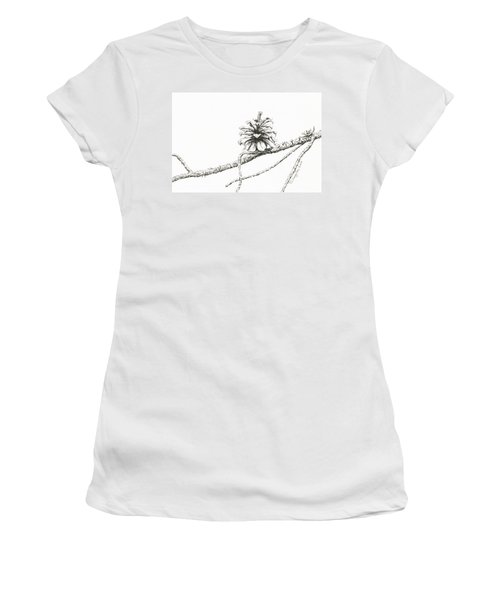 Lodgepole Pine Cone Women's T-Shirt (Athletic Fit)