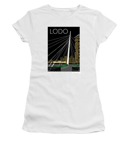 Lodo By Night Women's T-Shirt (Athletic Fit)