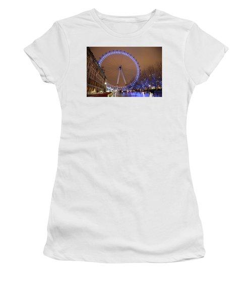 Women's T-Shirt (Junior Cut) featuring the photograph Big Wheel by David Chandler