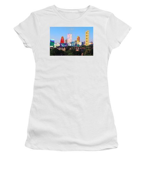 London Skyline Collage 1 Women's T-Shirt