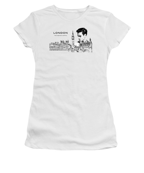 London The Fashion Capital Women's T-Shirt (Athletic Fit)