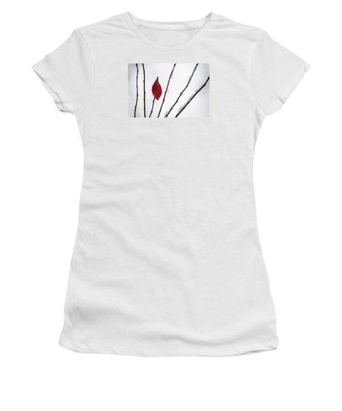 Lone Survivor Women's T-Shirt (Junior Cut) by Deborah Smolinske