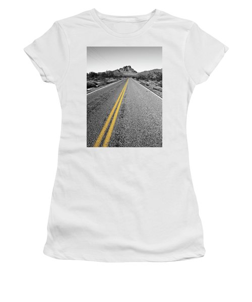 Lonely Road Women's T-Shirt (Athletic Fit)