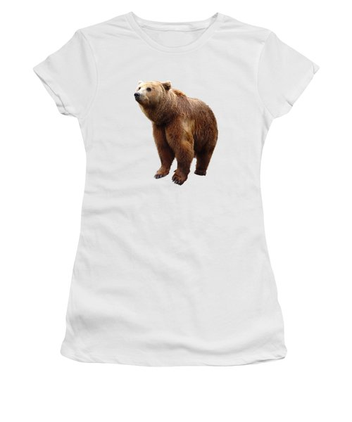 Lonesome Bear Women's T-Shirt (Athletic Fit)