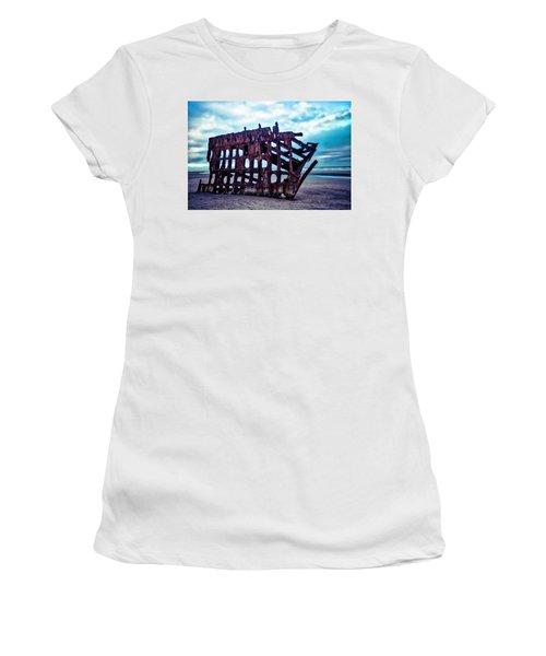 Long Forgotten Shipwreck Women's T-Shirt (Athletic Fit)