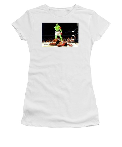 Long Live Ali Women's T-Shirt (Junior Cut) by Chief Hachibi