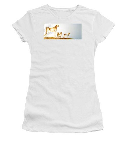 Lookout Post - Original Artwork Women's T-Shirt (Athletic Fit)