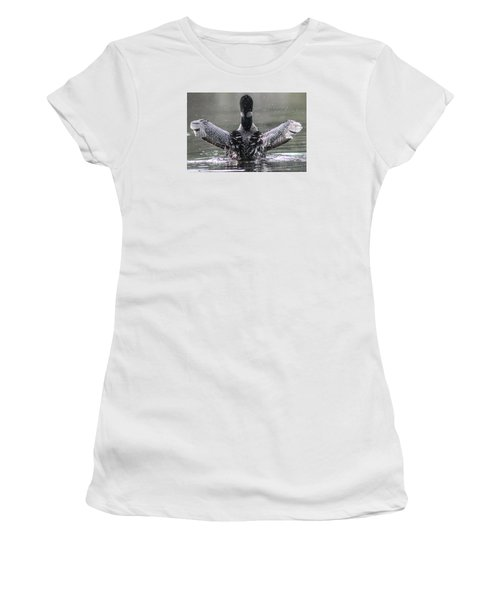 Loon Women's T-Shirt (Athletic Fit)