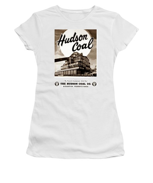 Loree Colliery Larksville Pa. Hudson Coal Co  Women's T-Shirt (Athletic Fit)