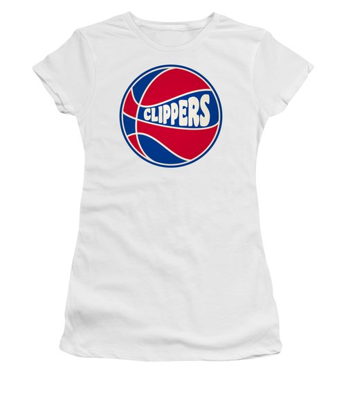 Los Angeles Clippers Retro Shirt Women's T-Shirt (Junior Cut)