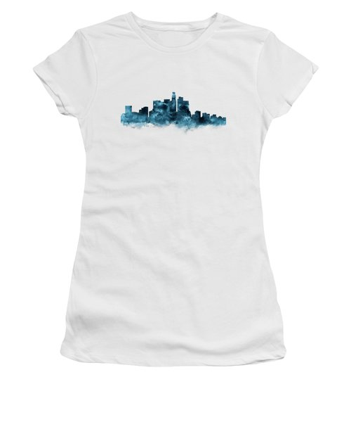 Los Angeles Skyline Women's T-Shirt (Athletic Fit)