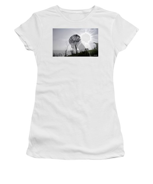 Lost Connection With Nature Women's T-Shirt (Athletic Fit)