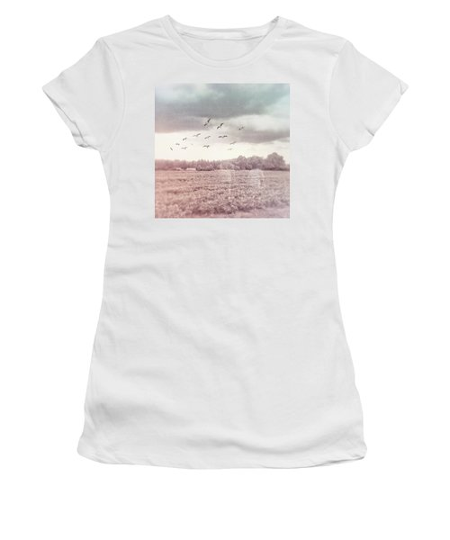 Lost In The Fields Of Time Women's T-Shirt (Athletic Fit)