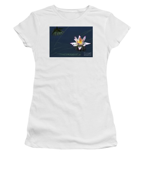 Lotus And Reflection Women's T-Shirt