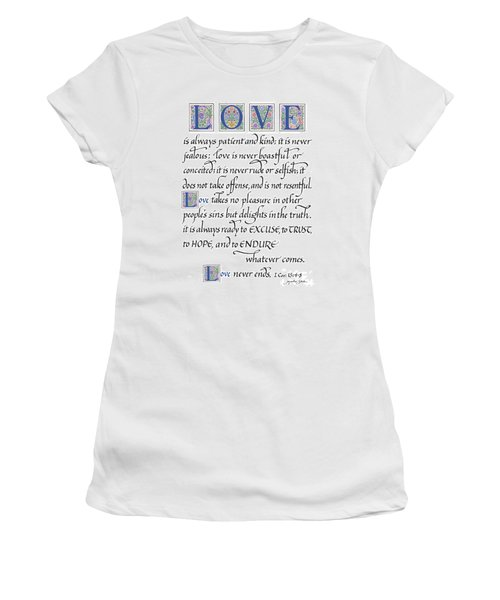 Love Is Always Patient Women's T-Shirt