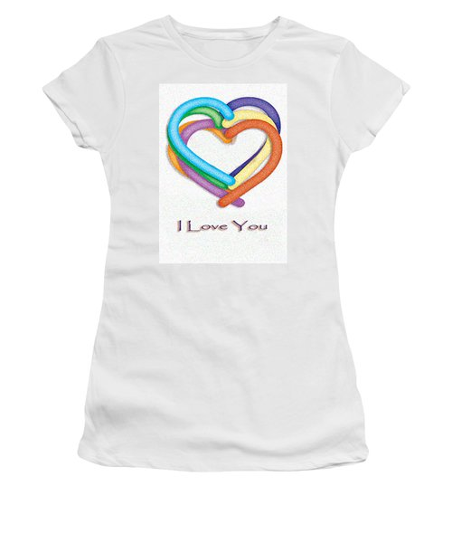 Love Is In The Air Women's T-Shirt (Athletic Fit)