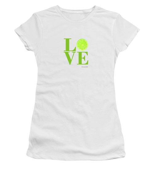 Love Lime Women's T-Shirt (Athletic Fit)