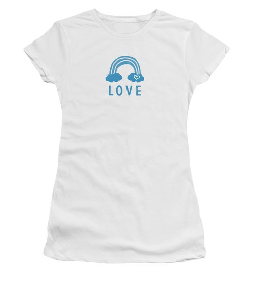 Love Rainbow- Art By Linda Woods Women's T-Shirt