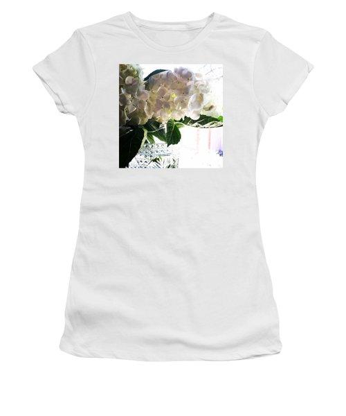 Love These Flowers! #happylaborday Women's T-Shirt (Junior Cut) by Jennifer Beaudet