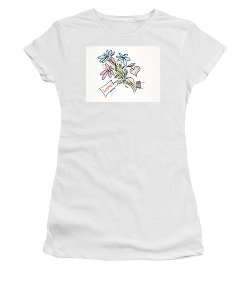Love To All Women's T-Shirt (Athletic Fit)
