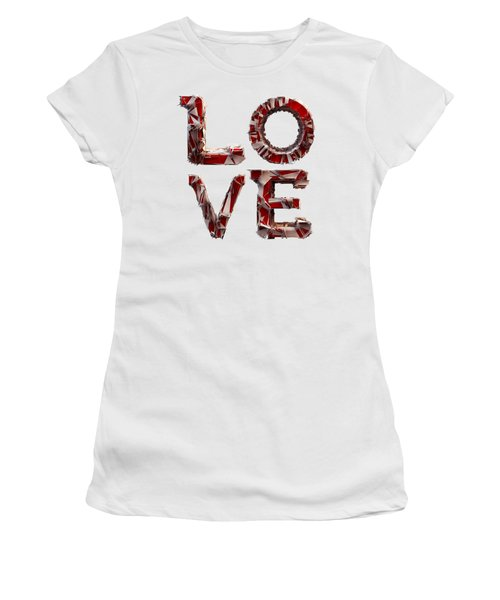Women's T-Shirt featuring the photograph Love You To Death by Gary Keesler