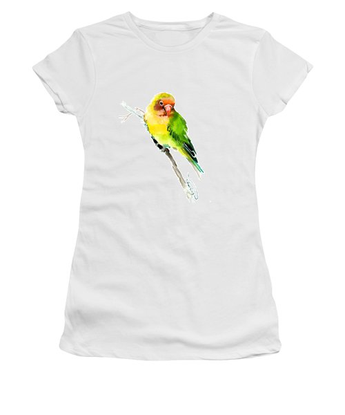 Lovebird Women's T-Shirt (Athletic Fit)