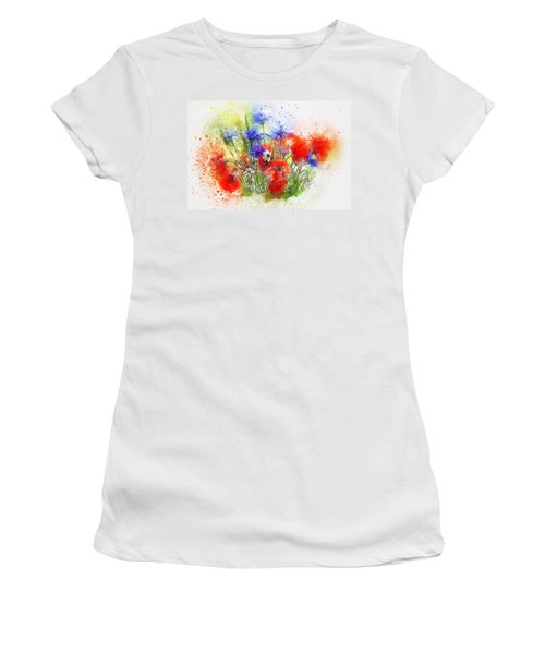 Watercolour Bouquet Women's T-Shirt