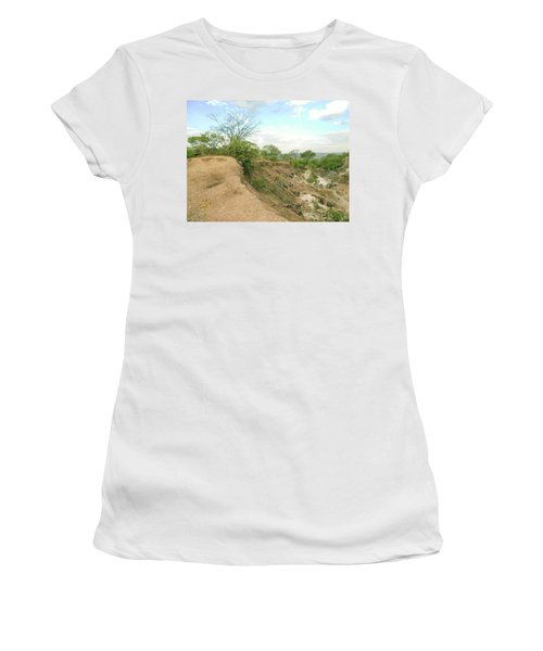 Women's T-Shirt (Junior Cut) featuring the photograph Lovers Forever by Beto Machado