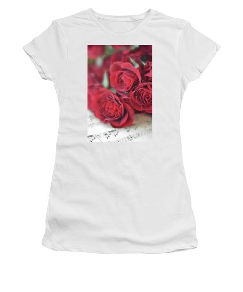 Love's Music Women's T-Shirt (Athletic Fit)