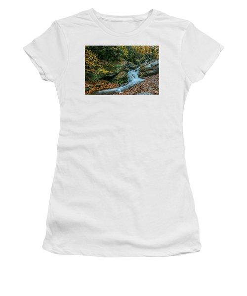 Lower Upper Creek Falls Women's T-Shirt