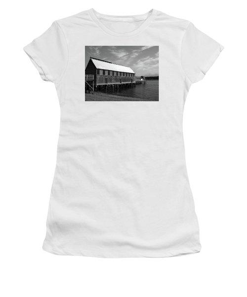 Lubec, Maine Women's T-Shirt (Athletic Fit)