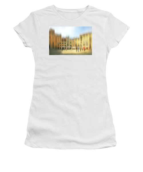 Lucca Ampitheatre Impression 1 Women's T-Shirt (Junior Cut) by Marty Garland