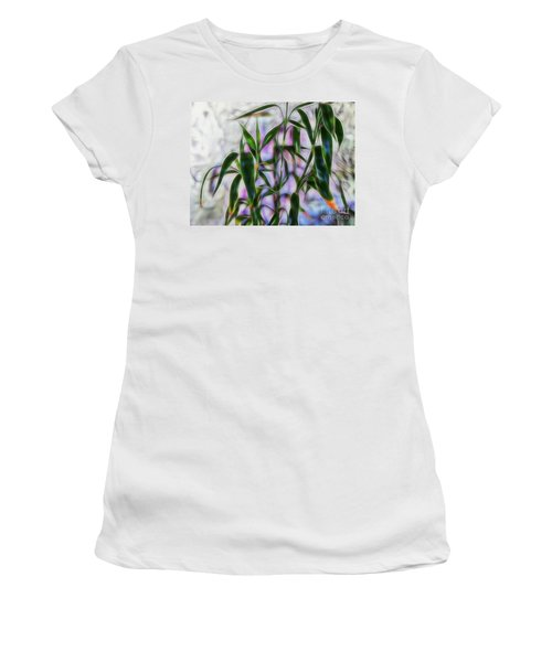 Lucky Bamboo Women's T-Shirt (Athletic Fit)
