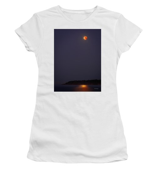 Lunar Eclipse - January 2018 Women's T-Shirt (Athletic Fit)