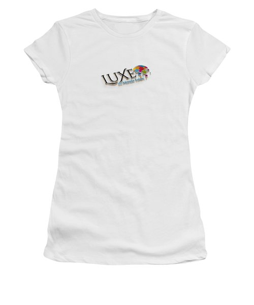 Luxe Logo 3d 2 Women's T-Shirt (Athletic Fit)