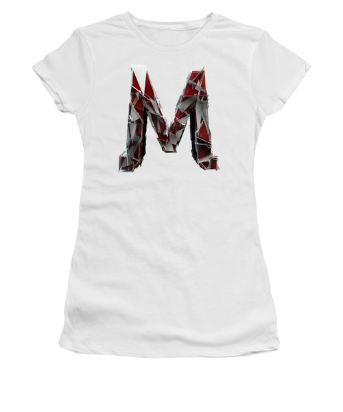 Women's T-Shirt featuring the photograph M Is For Mama by Gary Keesler