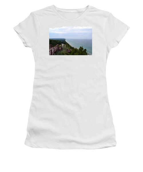 M22 Scenic Lake Michigan Overlook  Women's T-Shirt