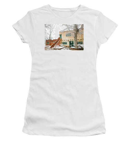Women's T-Shirt (Junior Cut) featuring the photograph Mabel Dodge House 2 by Marilyn Hunt