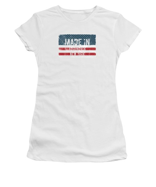 Made In Adirondack, New York Women's T-Shirt