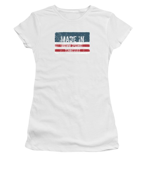 Made In Primm Springs, Tennessee Women's T-Shirt