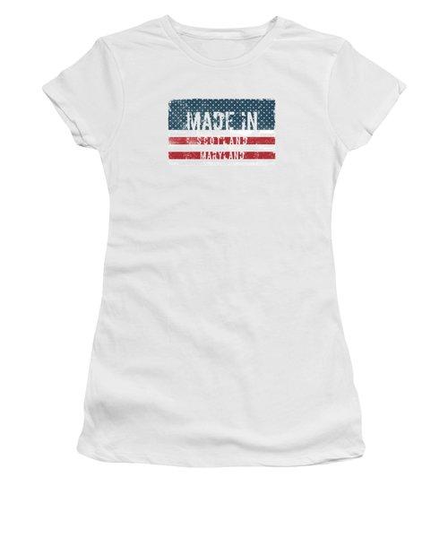 Made In Scotland, Maryland Women's T-Shirt