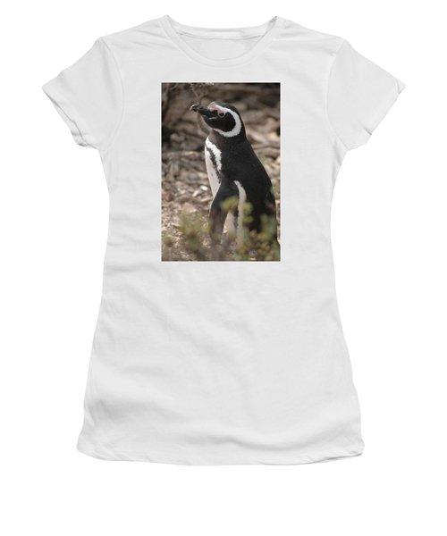 Magellanic Penguin No. 1 Women's T-Shirt (Junior Cut)